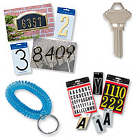 Hillman Group - Keys & Key Accessories; Letters, Numbers, Signs