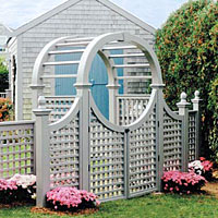 Nantucket Post Cap - Arbors & Pergolas